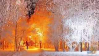 ''Зимняя сказка..'Просто отдохните.Удивительная музыка.Сквозь вьюгу звонок у двери-и на пороге ТЫ...