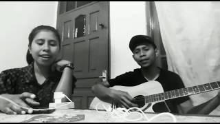 Amina_bintang cover Nobita ft Richard- weking gitar