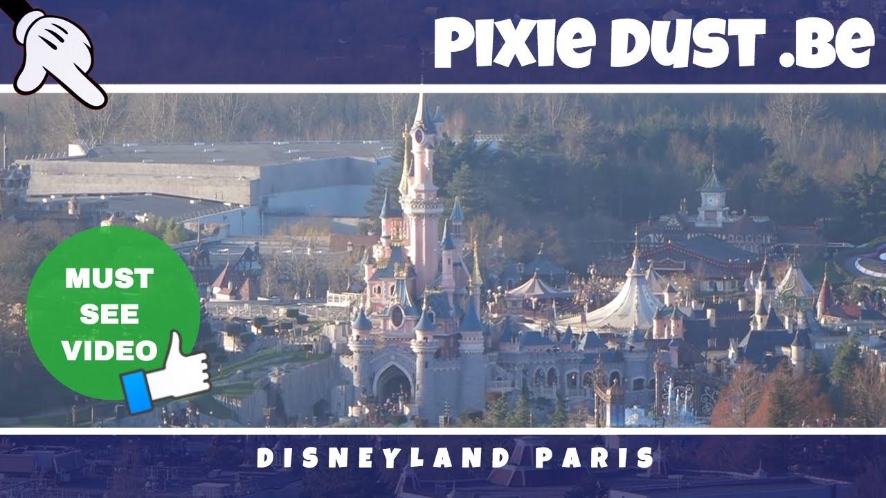 Panoramagique Pov On Ride Aerial View Disneyland Paris Youtube