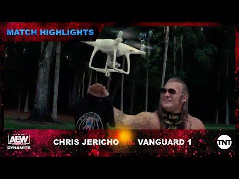 Chris Jericho Argues With Matt Hardy's Drone On AEW Dynamite