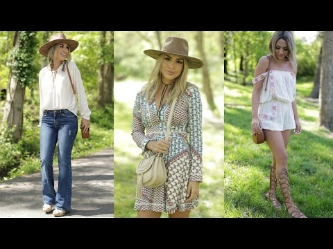 SPRING BOHO INSPIRED LOOKBOOK! Alexandrea Garza