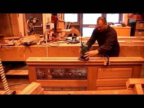 Manufacturing A Pre Hung Exterior Door Set Distinctive Doors Youtube