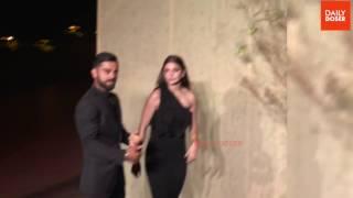 Virat & Anushka Spotted Together dancing at Yuvraj Singh