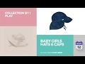 Baby Girls Hats & Caps Collection By I Play