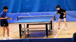 2011學界乒乓球賽Division 1 Grade C 準決賽