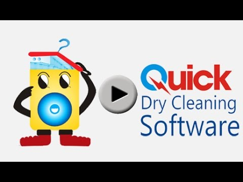 Quick Dry Cleaning Software - Cloud based dry cleaning software Demo