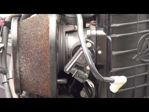 How to replace Defective Mercury Outboard Air Filter on EFI Four Stroke75hp 90hp 115hp