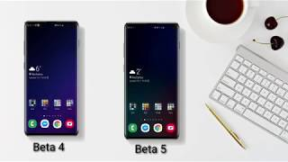 ONE UI 2 beta 4 vs beta 5 Animations