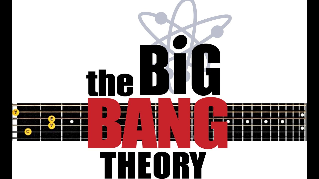 Big Bang Theory # Acoustic guitar lesson note tabs