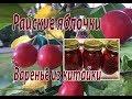 Райские яблочки. Варенье из китайки.