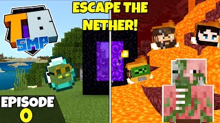 Truly Bedrock Season 2 Episode 0! ESCAPING THE NETHER TOGETHER! Bedrock Edition Survival Let's Play!