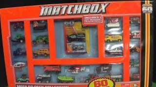 Mega 60-Pack Collection From Matchbox 60th Anniversary 2013