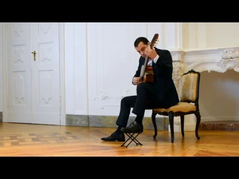 D. Aguado, Trois Rondo Brillants, Op.2 N.2  In A Minor Classical Guitar - Tal Hurwitz