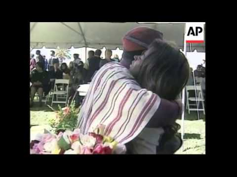 USA: JONESTOWN GUYANA MASSACRE MARKED 20 YEARS ON