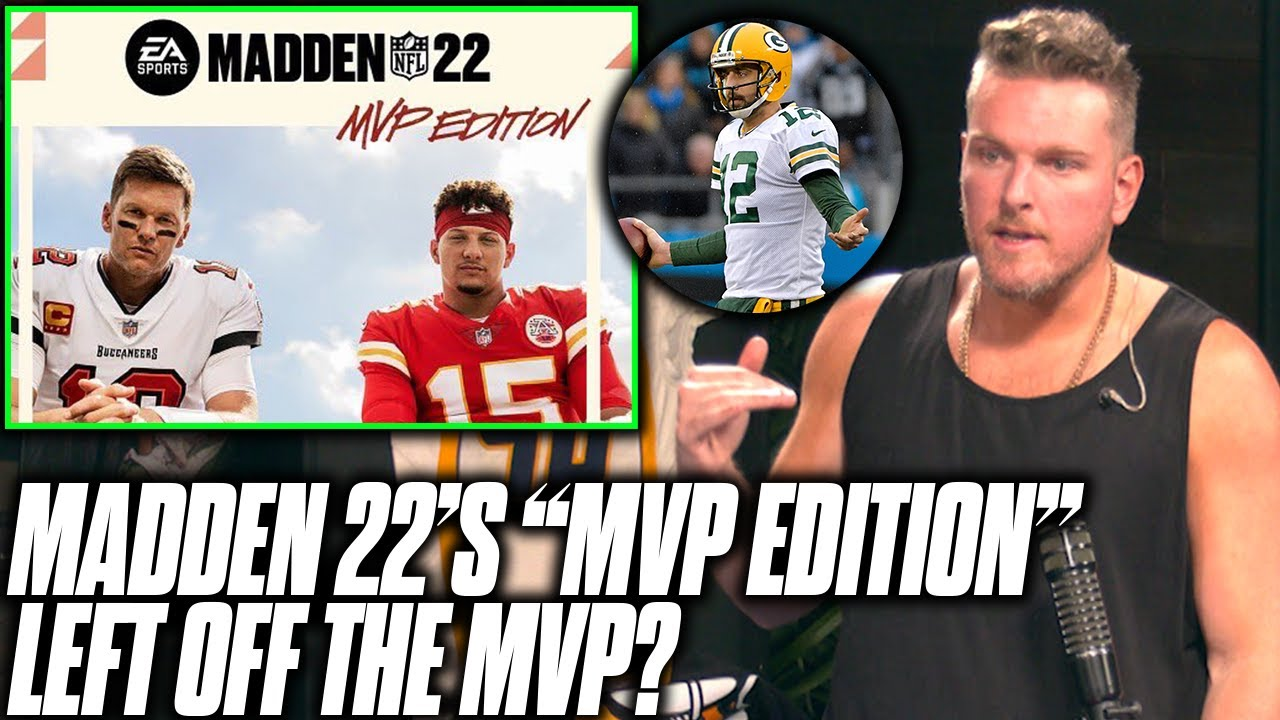 """Pat McAfee Reacts To Madden 22's """"MVP Edition"""" Cover Release"""