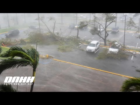 Puerto Rico: Hurricane Maria Hits Hard! Aftermath Video Of Puerto Rico Without Power!