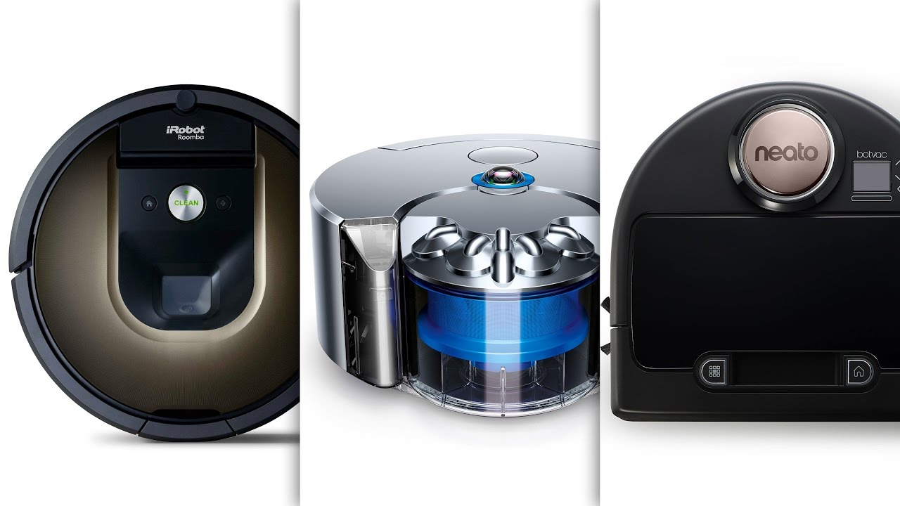 roomba vs neato vs dyson the ultimate robot vacuum. Black Bedroom Furniture Sets. Home Design Ideas
