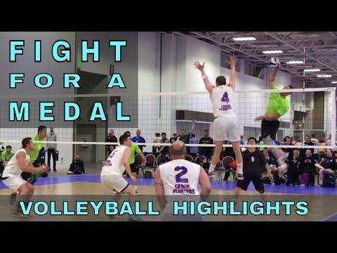 Crank Blasters vs Tall Ones Volleyball HIGHLIGHTS (USAV Nationals Game 10)