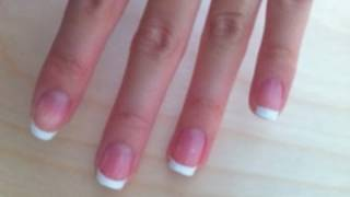 At Home French Manicure (How I do my nails)