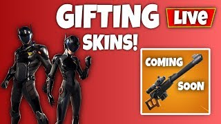 'NOUVEAU' ITEM SHOP B.R.U.T.E SKINS GIVEAWAY // GRINDING CHALLENGES (Fortnite Battle Royale)