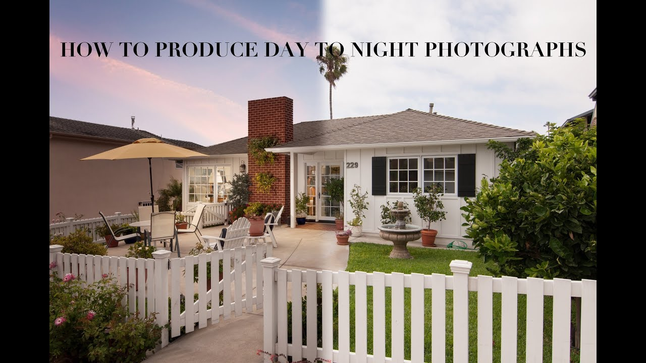 Turn Daytime Exteriors Into Twilight Exteriors Virtual Twilights for Real  Estate Photography