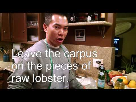 Julian's Chinese Style Black Bean Style Lobster