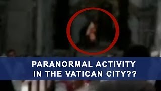 Jesus apparition in Vatican?? | Ghost caught on tape | Jesus Christ ghost  apparition caught on tape
