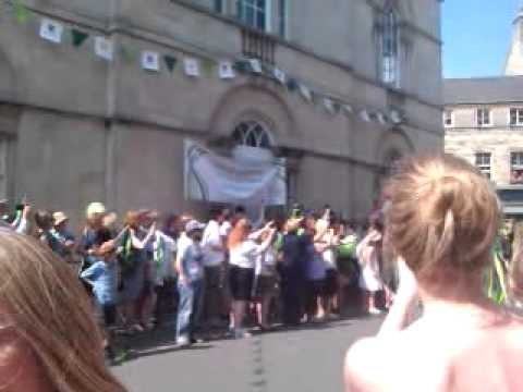 Olympic torch cirencester