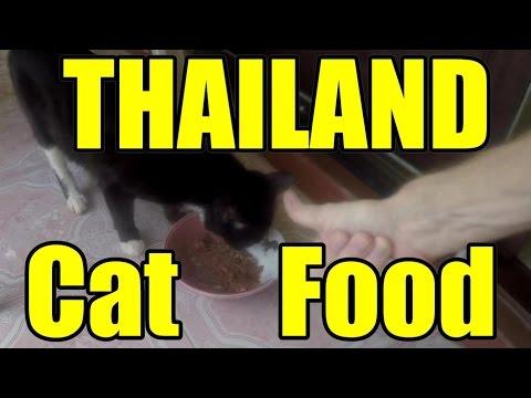 Thailand Cat Food V240