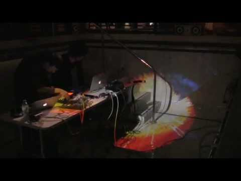 Diarmo & l'Aubaine - live in the swimming Pool - Festival Art of the Moment, London