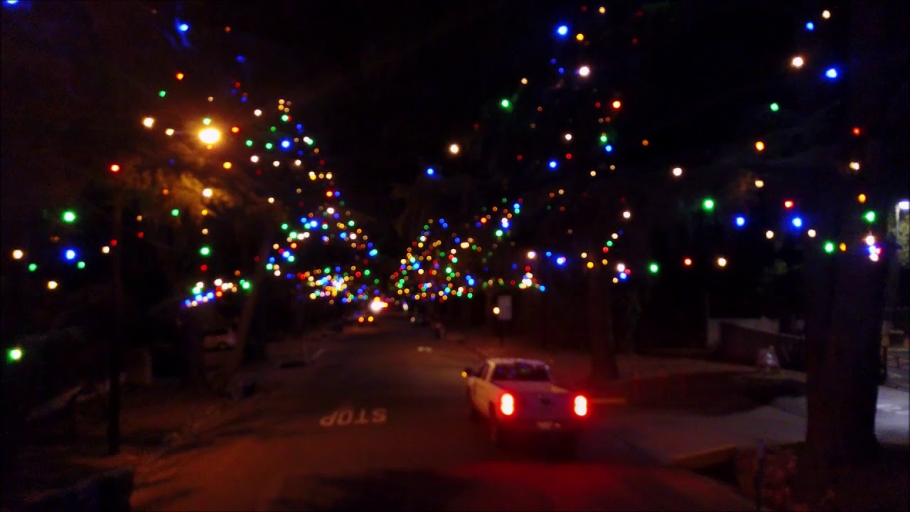 Christmas Tree Lane Altadena California Youtube