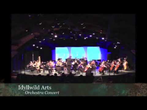 Idyllwild Arts Academy Orchestra playing Debussy: Petite Suite