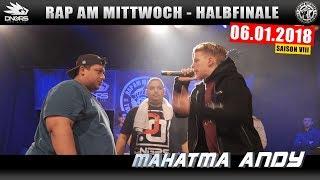 RAP AM MITTWOCH LEIPZIG: 06.01.18 Halbfinale feat. LBB, MAHATMA ANDY uvm. (3/4)