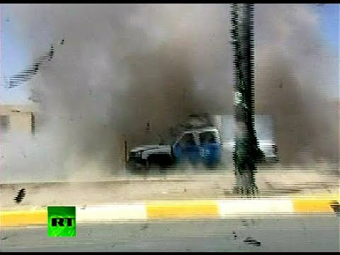 Video: Cameraman escapes deadly blast in Iraq