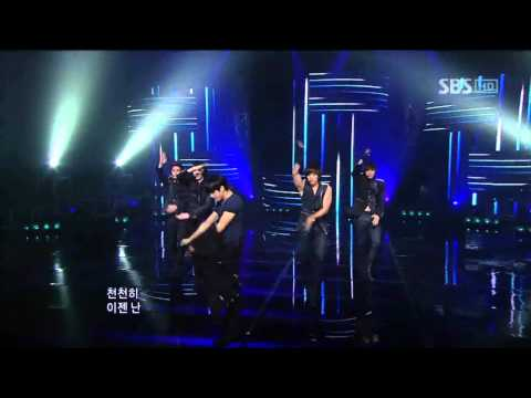 MBLAQ - Y (엠블랙 - Y) @ SBS Inkigayo 인기가요 100704