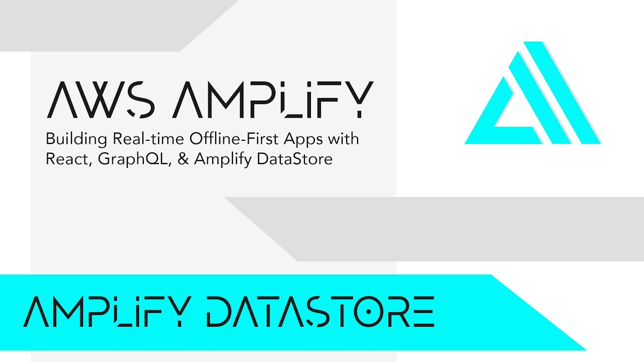Building Real-time Offline-first Apps with React, GraphQL, & Amplify DataStore
