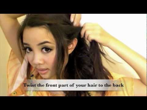 Onnbaby S 3 Minutes Easy Side Sweep Princess Wavy Hairstyle