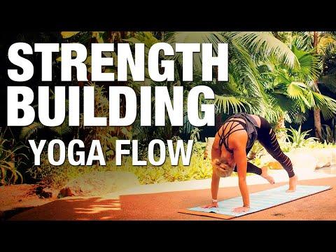 Strength Building Yoga Flow Class - Five Parks Yoga