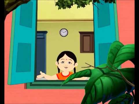 Children Song | Antara Chowdhury - BulBul Pakhi Moyna Tiye - Animation | Salil Chowdhury