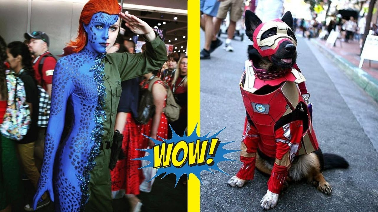 The Best Cosplay Costumes San Diego Comic Con 2018 Youtube