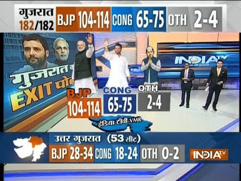Poll of Exit Polls: Gujarat Assembly Elections 2017