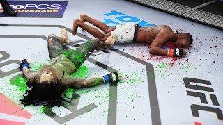 СУМАШЕДШИЙ ДВОЙНОЙ НОКАУТ ХИЩНИКА в UFC 3 / PREDATOR