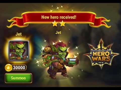 FINALLY GOT SUPPORT/HEALER JET | HERO WARS