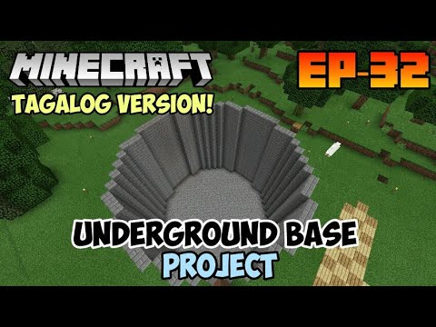 EP32S2 Minecraft Survival Series - HUGE WORLD PROJECT #Tagalog #Filipino