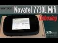 Novatel 7730L Mifi Unboxing - Verizon JetPack