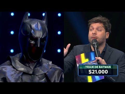 Le ofreció a Guido su disfraz de Batman a 21 mil pesos y él conductor lo dudo