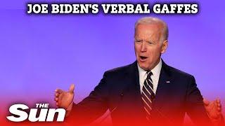 Former Vice-President Joe Biden's verbal gaffes