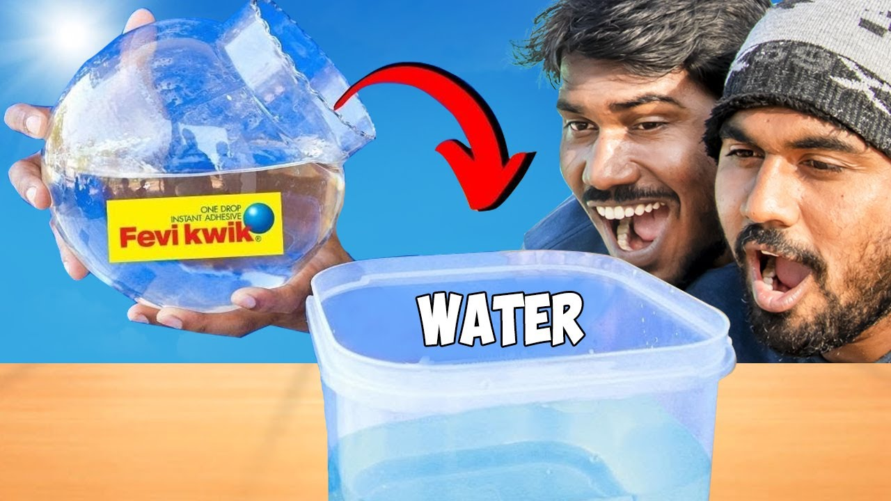 1 Kg Fevikwik Vs Water | Got Shocking Result |