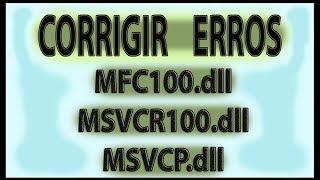 Está faltando MFC100 dll