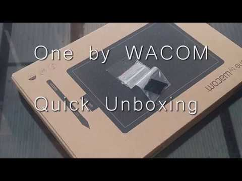 My First Graphic Tablet - One by Wacom CTL-672 Medium( Quick Unboxing Video  )